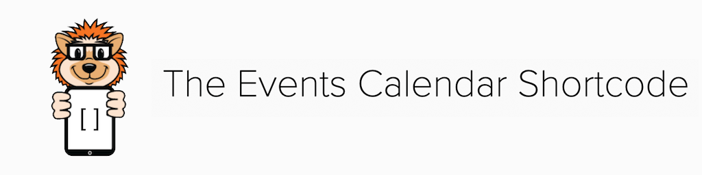 A Complete List of The Events Calendar Shortcodes